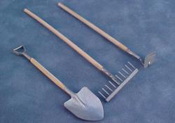 """1"""" Scale Garden Tools"""