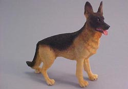 "1"" Scale Miniature German Shepherd"