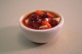 "1"" Scale Bowl Of Beef Stew"