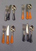 "1"" Scale Halloween Flatware"