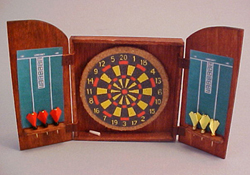 "Amy Robinson 1"" Scale Hand Crafted Pub Dart Set"