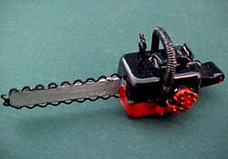 "1"" Scale Chain Saw"