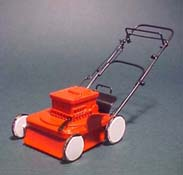 "1"" Scale Power Walk Behind Lawnmower"