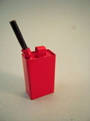 "1"" Scale Miniature One Gallon Gas Can"