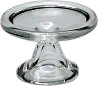 "1/2"" Scale Miniature Glass Pastry Tray"
