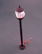 "Lighting Bug 1/2"" Scale Hand Crafted Outdoor Pole Light"