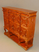 JBM 1� Scale Carved Panel Chest