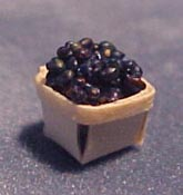"All Through The House 1/2"" Scale Box of Blueberries"