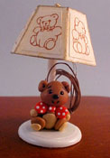 "1"" Scale Teddy Bear Nursery Lamp"
