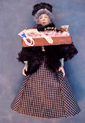 "Loretta Kasza 1"" Scale Marla The Peddler Lady"