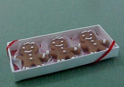 "Lola Originals 1"" Scale Boxed Ginger Bread"