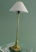 1&quot; Scale Beaded Victorian Floor Lamp