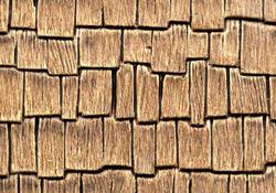 "1"" Scale Woodshake Cedar Roofing"
