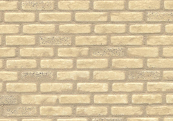 "1/2"" Scale Victorian Yellow Brick"