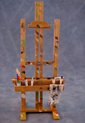 "1"" Scale Hand Crafted Small Professional Easel"
