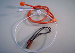 "1"" Scale Miniature Set Of Three Non-Working Extension Cords"