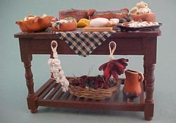 "1"" Scale Mexican Feast Table"