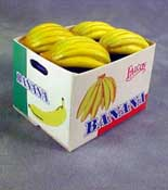 "1"" Scale Case Of Bananas"