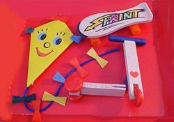 Bodo Hennig Modern Toy Set