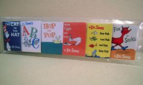 "1"" Scale Non-Printed Six Piece Children's Book Set"