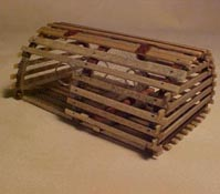 "1"" Scale New England Lobster Trap"