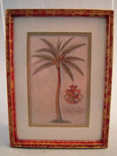 "McBay Miniatures 1"" Scale Royal Palm Framed Print"