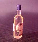 "Townsquare 1/2"" Scale Bottle Of Rose' Wine"