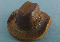 Prestige Leather 1/2&quot; Scale Miniature Cowboy Hat