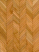 "Brodnax 1/2"" Scale Lyon Cherry Parquet Flooring Kit"