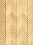 "Brodnax 1/2"" Scale Lyon Maple Parquet Flooring Kit"
