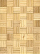 "Brodnax 1/2"" Scale Lille Maple Parquet Flooring Kit"