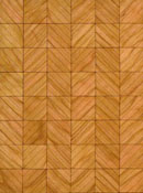 "Brodnax 1/2"" Scale Evian Cherry Parquet Flooring Kit"