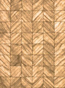 "Brodnax 1/2"" Scale Evian Maple Parquet Flooring Kit"