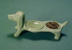 1&quot; Scale Painted Puppy Dish