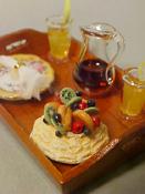"""1"""" Scale Garden Dessert Tray"""
