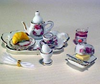 "1"" Scale Breakfast Tray Set"