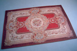 Mc Bay Miniatures 1&quot; Scale Rich Red Carpet