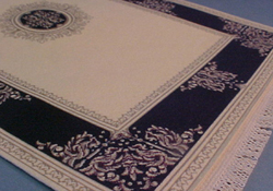 Mc Bay Miniatures Black and Cream Carpet
