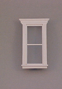 "Majestic Mansions 1"" Scale Miniature Atherton Plain Single Window"