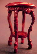 "Bespaq 1/2"" Scale Mahogany Fair Lady Sherry Table"