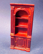 "Bespaq 1/2"" Scale Mahogany Randall Single Bookcase"