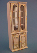 "Bespaq 1/2"" Scale Hand Painted Emporium Double Display Case"