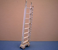 "Bespaq 1/2"" Scale Miniature Hand Painted Emporium Ladder"