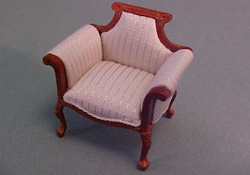 Bespaq 1/2&quot; Scale Walnut Emporium Shoe Department Chair  