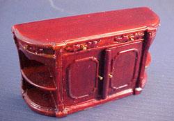 "Bespaq 1/2"" Scale Miniature Mahogany Portia Credenza"
