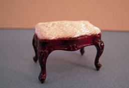 "Bespaq 1/2"" Scale Vintage Miniature Mahogany Bench"