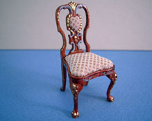"Bespaq 1/2"" Scale Miniature Hand Painted Carrington Side Chair"