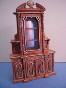 Bespaq 1/2� Scale Miniature Hand Painted Carrington Curio