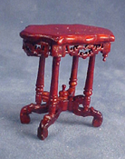 "Bespaq 1/2"" Scale Mahogany Roosevelt End Table"