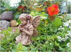 """Fairy Garden """"Samantha"""" Resin Fairy Doll"""